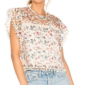 Tularosa Kennedy Top in Rainbow Lace S- NWOT $148